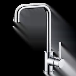 Küchenarmatur Chrom – Wahlbach QMIX800