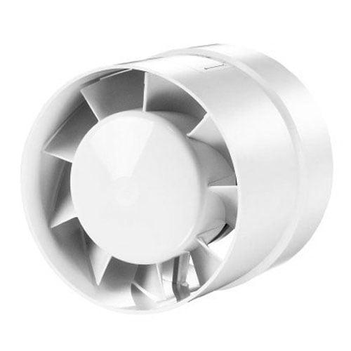 Cylinder Rohreinschubventilator Ø150mm – weiß