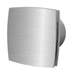 Silent Badlüfter Ø100mm mit Feuchtigkeitssensor und Nachlauf – Aluminium