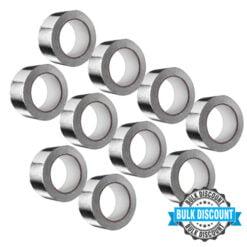 Klebeband für Aluflexrohre Aluminium 50×10000 mm (10 Stück)